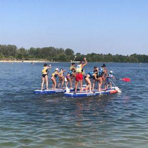 paddle gymnastique